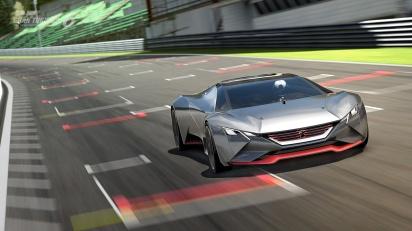 Image tirée du jeu Gran Turismo 6  ©Peugeot
