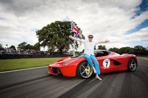 chris-evans-and-his-laferrari-at-carfest-north