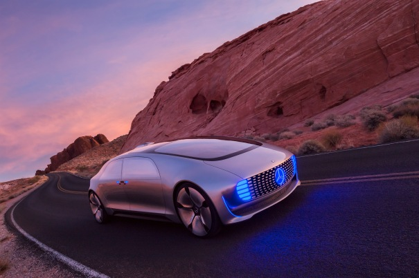 Mercedes-Benz F015 Luxury in Motion ©Mercedes