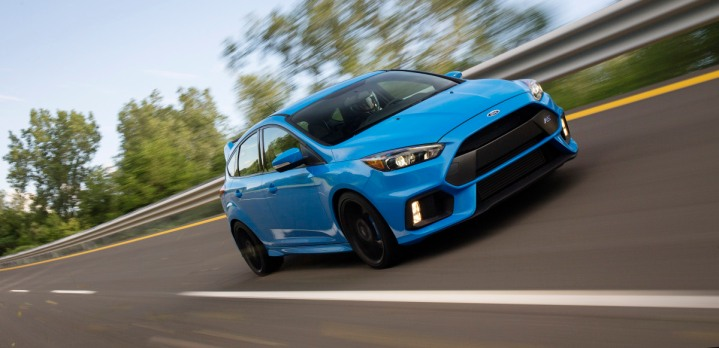 Equipped with Ford'€™s 2.3-liter EcoBoost® engine, the all-new 2016 Focus RS will deliver an astonishing 350 horsepower and 350 lb.-ft. torque.