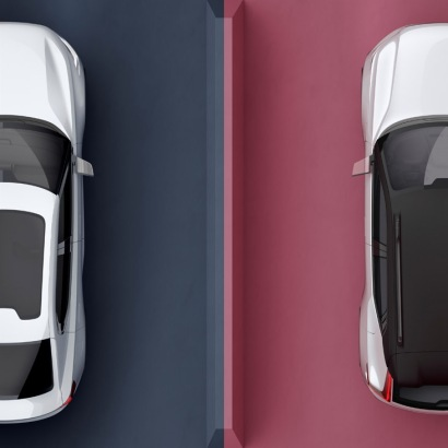 Volvo Concept 40.1 + 40.2 birds-eye detail