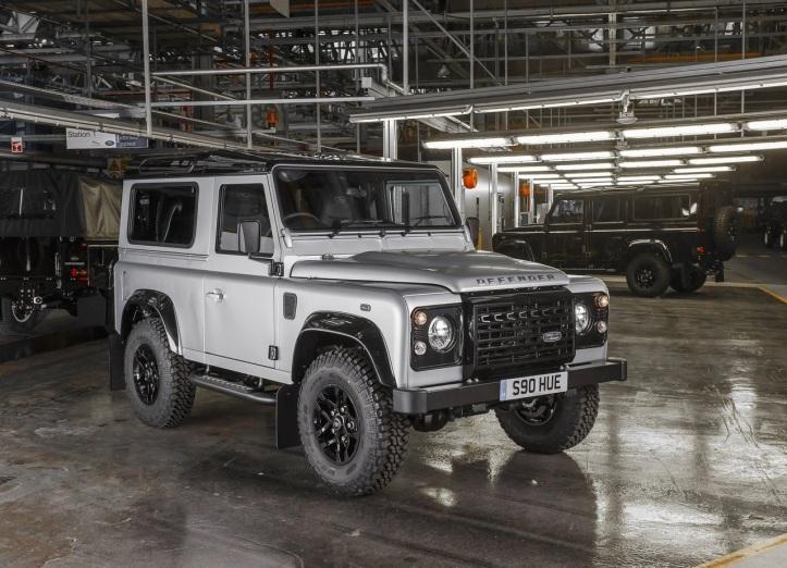 200.000ème exemplaire du Land Rover Defender.