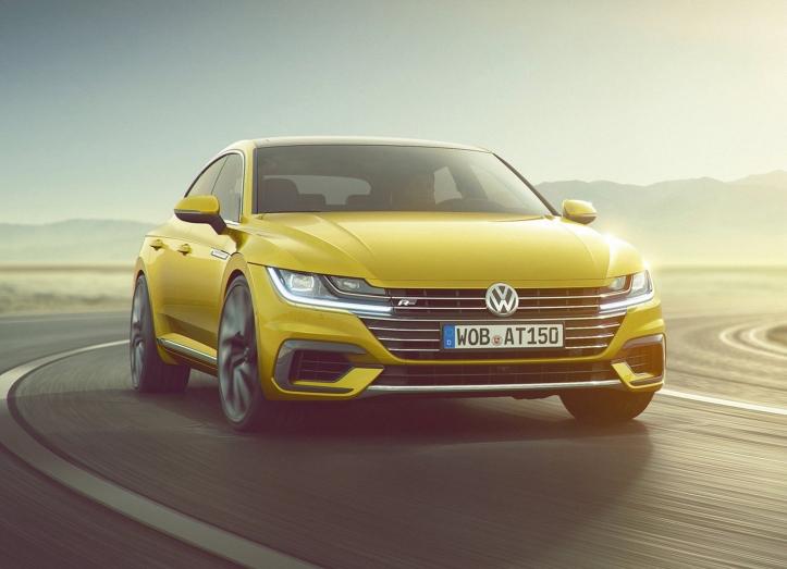 Volkswagen Arteon avant jaune 2