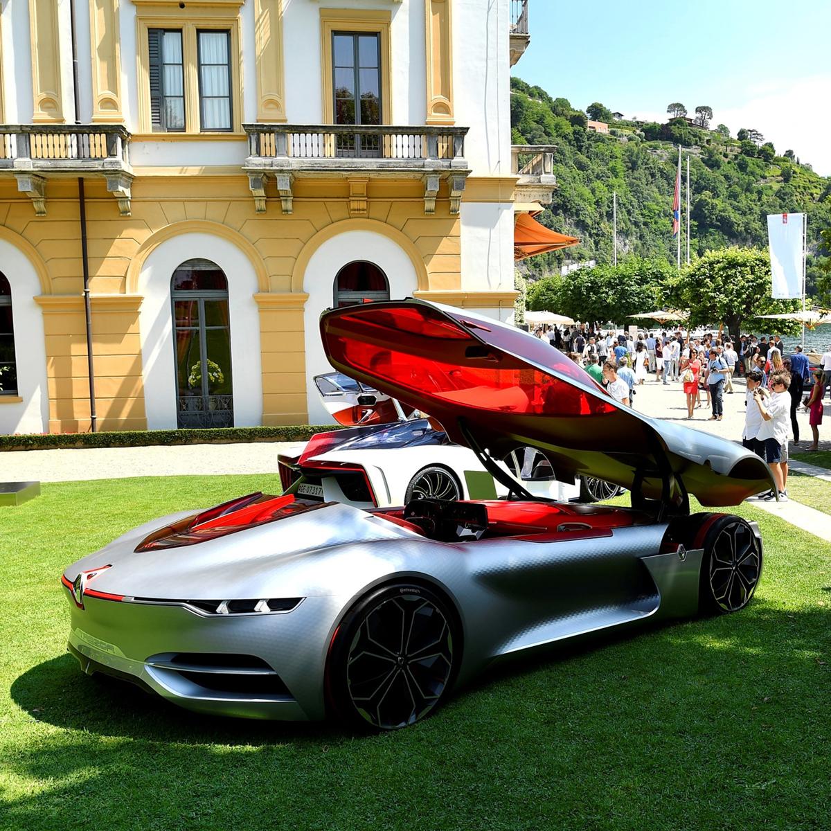 villa d este 2017 le renault trezor lu plus beau concept car de l ann e une fille au volant. Black Bedroom Furniture Sets. Home Design Ideas