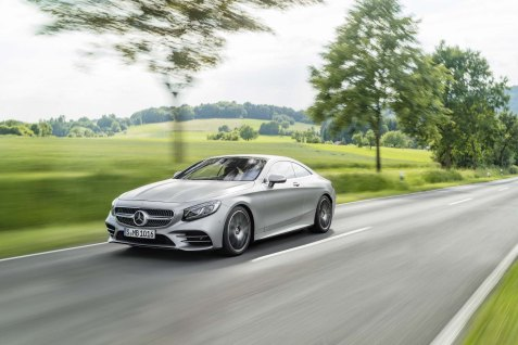 Mercedes-Benz S-Klasse Coupé; C 217; Exterieur: designo allanitgrau magno // Exterior: designo allanite grey magno