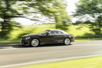 Mercedes-Benz S-Klasse Cabriolet; A 217; Exterieur: designo mokkaschwarz; // Exterior: designo mocha black