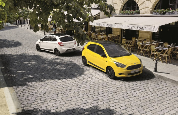 New Ford KA+ Colour Edition