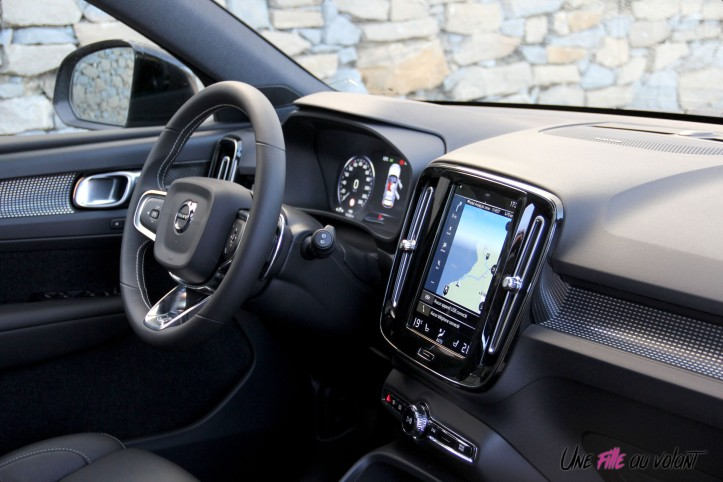 int rieur volvo xc40 r design first edition 2018 une fille au volant. Black Bedroom Furniture Sets. Home Design Ideas