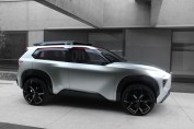 """Making its world debut at the 2018 North American International Auto Show in Detroit, the six-passenger, three-row Nissan Xmotion (pronounced """"cross motion"""") concept fuses Japanese culture and traditional craftsmanship with American-style utility and new-generation Nissan Intelligent Mobility technology."""
