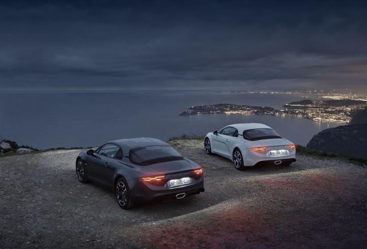 2018 - Alpine A110 Pure et Alpine A110 Légende