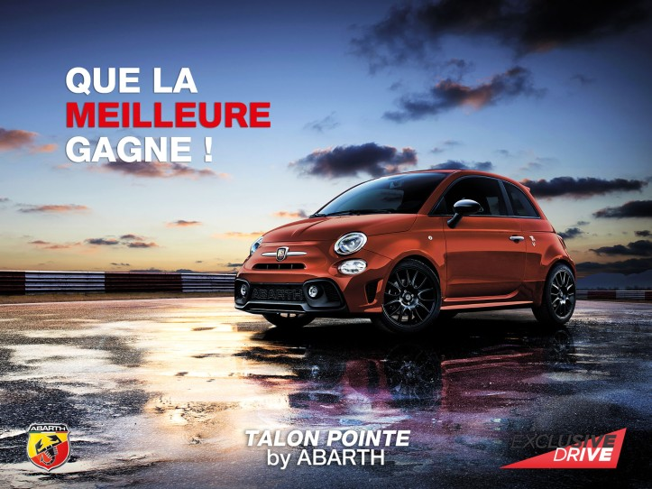 Talon Pointe by Abarth Exclusive Drive 2018