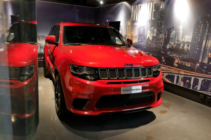 Exposition Jeep Adventures MotorVillage 2018 / Jeep Grand Cherokee Trackhawk