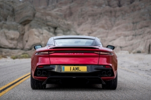 Aston Martin DB Superleggera 2018 arrière design sportive luxe supercar