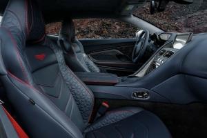 Aston Martin DB Superleggera 2018 intérieur luxe cuir sièges