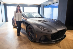 Aston Martin DB Superleggera 2018 statique avant supercar