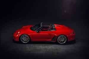 Porsche 911 Speedster Concept 2018 profil