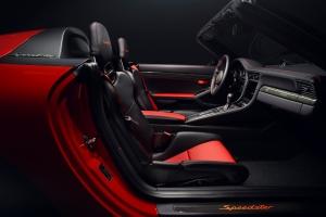 Porsche 911 Speedster Concept 2018 intérieur