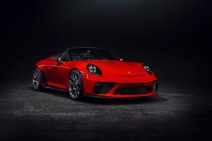 Porsche 911 Speedster Concept 2018 avant roues
