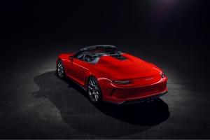 Porsche 911 Speedster Concept 2018 arrière feux échappement