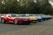 Ferrari Mortefontaine gamme GTC4 Lusso T 812 Supercar 488 GTB circuit V12 V8