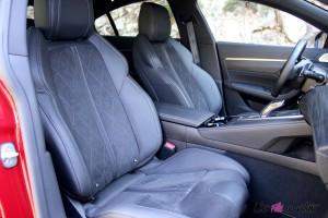 Peugeot 508 GT 2018 sièges avant EAT8 intérieur