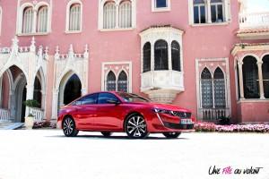 Peugeot 508 GT 2018 profil jantes rouge Ultimate feux fastback berline