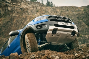 Ford Ranger Raptor franchissement