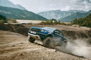 Ford Ranger Raptor dynamique