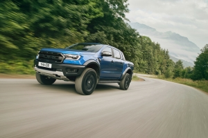 Ford Ranger Raptor route