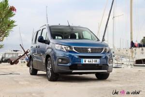 Peugeot Rifter 2018 Allure face avant statique