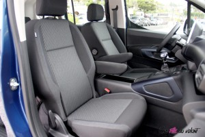 Peugeot Rifter 2018 Allure sièges avant