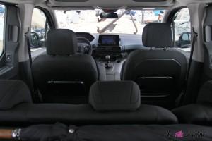 Peugeot Rifter 2018 Allure intérieur sièges