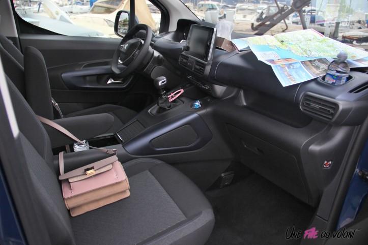 Peugeot Rifter 2018 Allure intérieur rangements