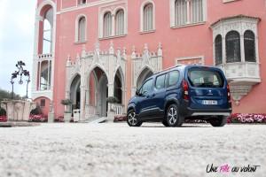 Peugeot Rifter 2018 Allure arrière statique manuelle