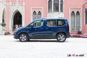 Peugeot Rifter 2018 Allure profil