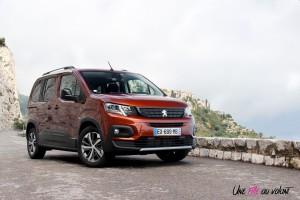 Peugeot Rifter 2018 GT Line metallic copper
