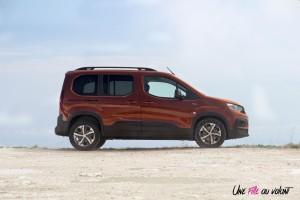Peugeot Rifter 2018 GT Line profil marron