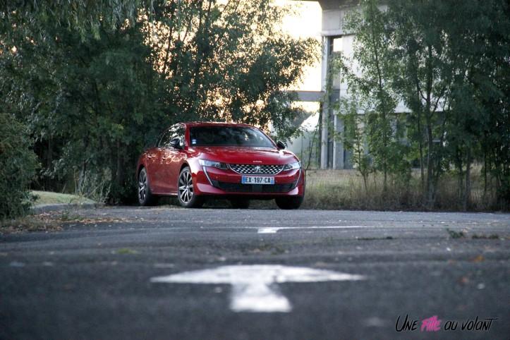 Essai Peugeot 508 nuit