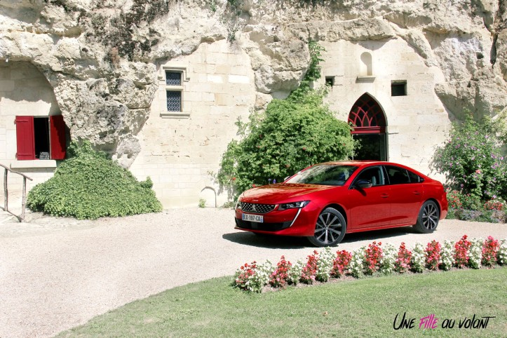 Peugeot 508 GT Line rouge ultimate statique essence