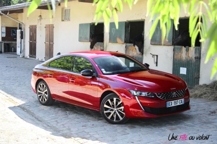 Peugeot 508 GT Line PureTech 180 EAT8 toit profil rouge ultimate