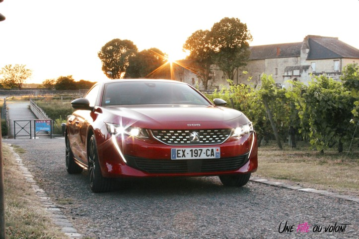 Peugeot 508 GT Line PureTech 180 EAT8 feux rouge ultimate