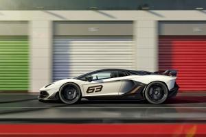 Lamborghini Aventador SVJ 2018 blanc