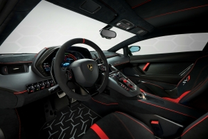 Lamborghini Aventador SVJ 2018 intérieur