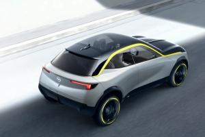Opel GT X Experimental Concept vue de haut