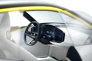 Opel GT X Experimental Concept détail volant