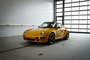 Porsche 911 Project Gold 2018 avant