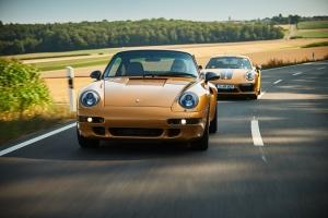 Porsche 911 Project Gold 2018 dynamique