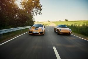 Porsche 911 Project Gold 2018 route
