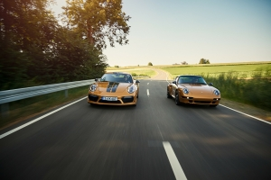 Porsche 911 Project Gold 2018 route