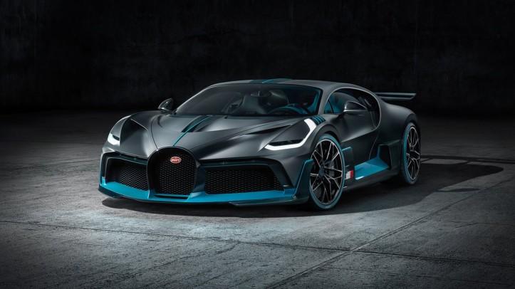 Bugatti Divo 2018 face avant